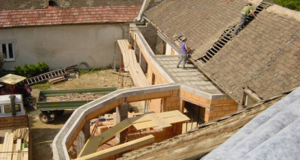 Vorher: Erker Dach Hohenwarth
