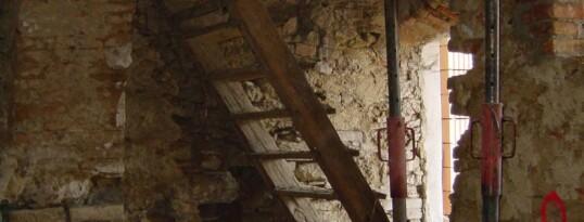 Vorher: Gewölbebeton Hohenwarth