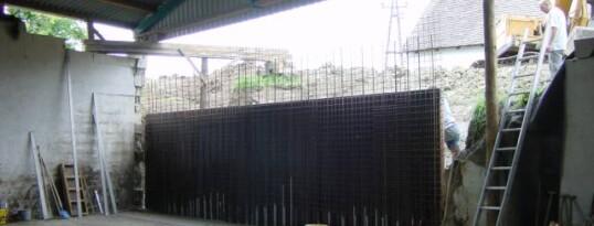 Nachher: Stützmauer Gaindorf