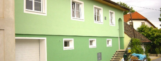 Vollwärmeschutzfassade Hollenstein
