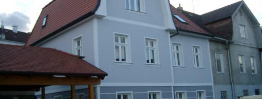 Nachher: Vollwärmeschutzfassade Eggenburg