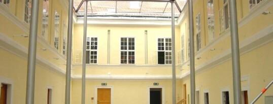 Nachher: Innenhofrenovierung Pfarrhof Ravelsbach