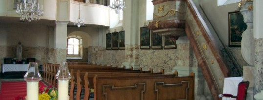 Kirchesanierung Gettsdorf