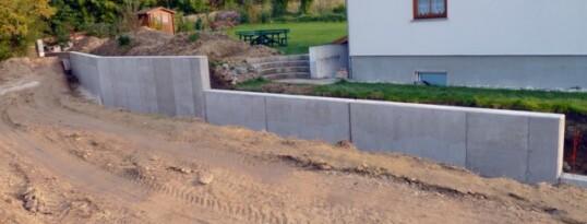 Stützmauer Ravelsbach