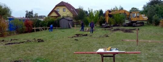 Baugrubenaushub Gettsdorf