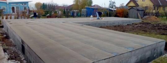 Fundamentplatte Gettsdorf