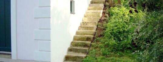 Nachher: Natursteinstiege Frauendorf