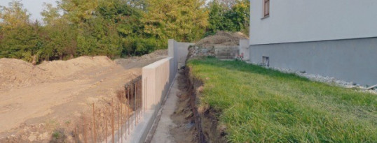 Nachher: Stützmauer Ravelsbach
