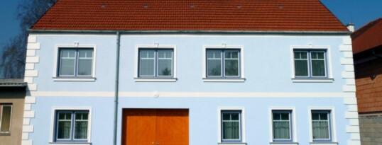 Nachher: Vollwärmeschutzfassade Frauendorf