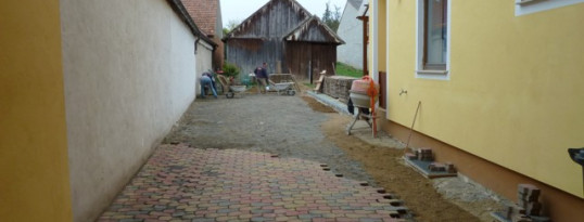 Vorher: Pflaster Ruppersthal