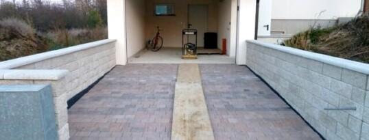 Nachher: Garage mit Zufahrt Ravelsbach