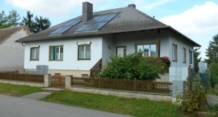 Vorher: Vollwärmeschutzfassade Gettsdorf