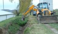 Graben räumen Gettsdorf