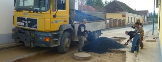 Asphaltierarbeiten Mühlbach