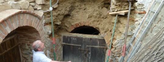 Vorher: Kellereingang Haugsdorf