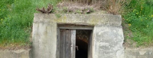 Vorher: Kellereingang Mühlbach