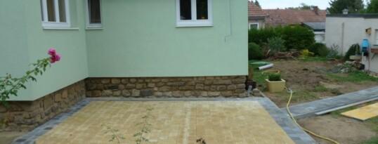 Nachher: Terrassenpflaster Ziersdorf
