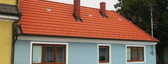 Nachher: Vollwärmeschutzfassade Haugsdorf