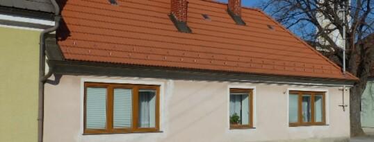 Vorher: Vollwärmeschutzfassade Haugsdorf