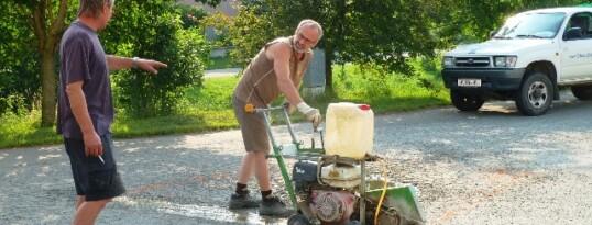 Asphaltierarbeiten Gettsdorf