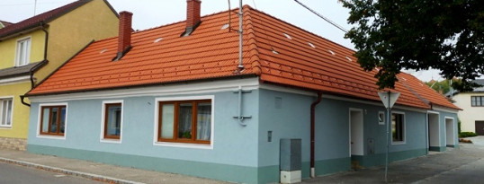 Vollwärmeschutzfassade Haugsdorf