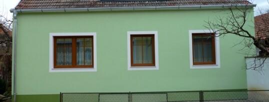 Nachher: Vollwärmeschutzfassade Mühlbach