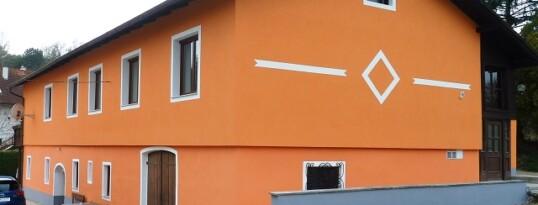 Nachher: Vollwärmeschutzfassade Hohenwarth