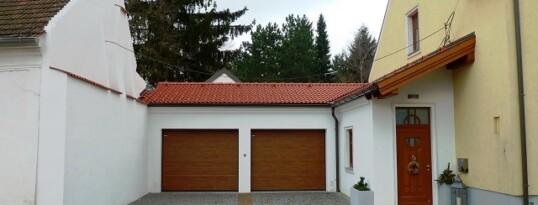 Nachher: Garagenzubau Sonnberg