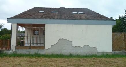 Vorher: Fassadensanierung Ziersdorf