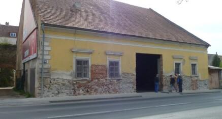 Vorher: Fassadensanierung Horn