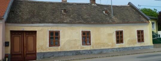 Vorher: Fassadensanierung Gaindorf
