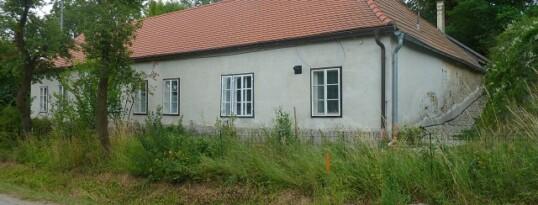Vorher: Fassadensanierung Grübern