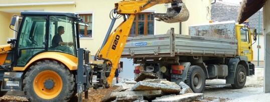 Abbrucharbeiten Sonnberg