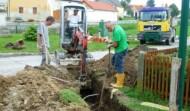 Kanalverlegung Reinprechtspölla