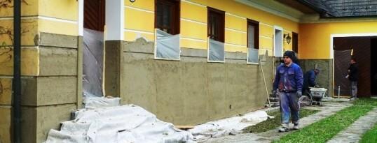 Fassadenputz Oberravelsbach