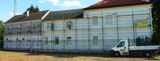 Fassadensanierung Gaindorf