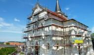 Außenputzsanierung Kirche Glaubendorf
