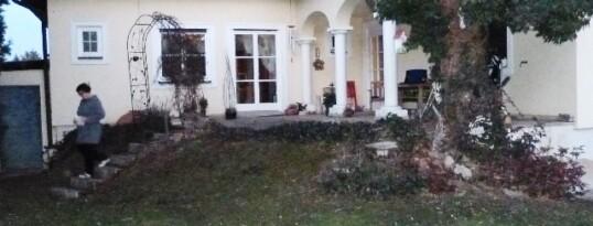 Vorher: Terrassenzubau Sitzendorf