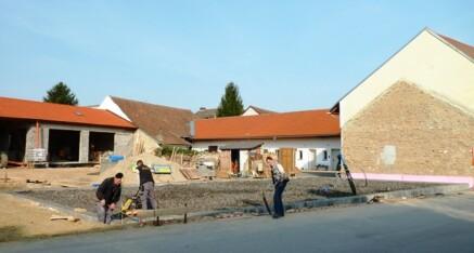 Vorher: Wohnhausrohbau Niederrußbach