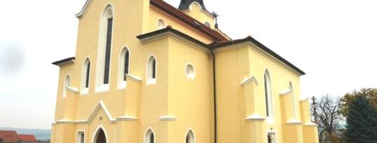 Nachher: Außenputzsanierung Kirche Gaubendorf