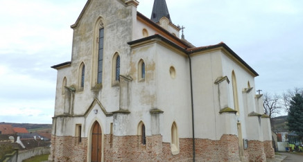 Vorher: Außenputzsanierung Kirche Gaubendorf