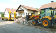 Abbrucharbeiten Großweikersdorf