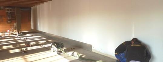 Hallenbodensanierung Gettsdorf