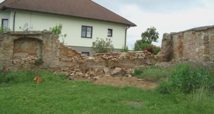Vorher: Sichtmauerwerk Gettsdorf