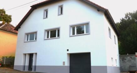 Nachher: Vollwärmeschutzfassade Ravelsbach