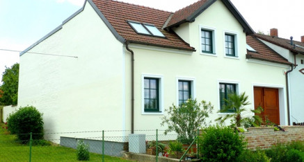 Nachher: Fassadensanierung Glaubendorf