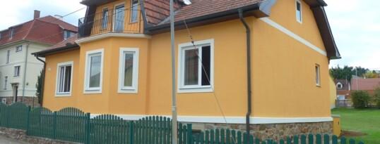 Nachher: Fassadensanierung Maissau