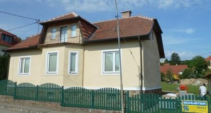 Vorher: Fassadensanierung Maissau