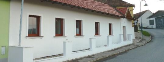 Nachher: Vollwärmeschutzfassade Großweikersdorf