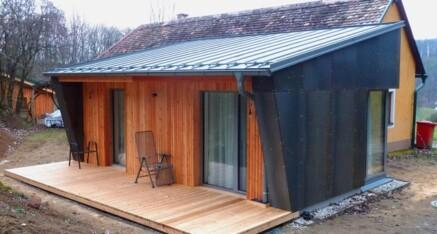 Nachher: Wohnhauszubau Zemling